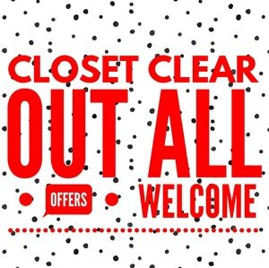 !!! CLOSET CLEAR OUT !!!